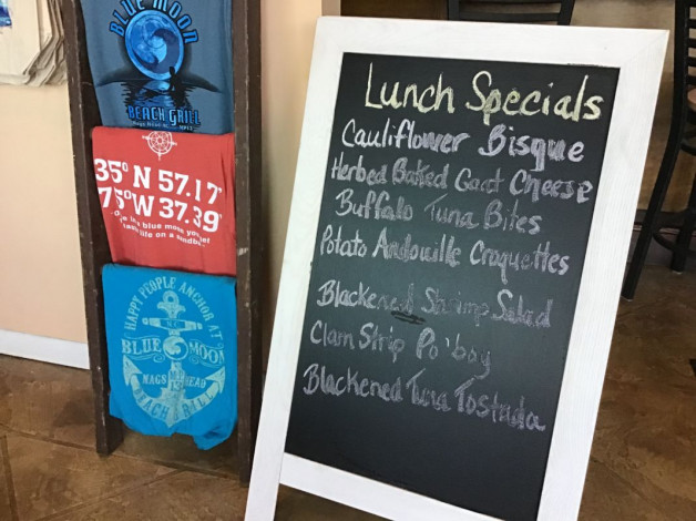 Friday Lunch Specials  – July 12, 2019