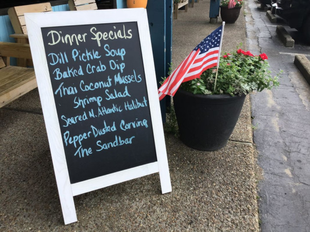 Friday Dinner Specials – July 12, 2019