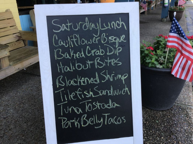 Saturday Lunch Specials July 13th, 2019