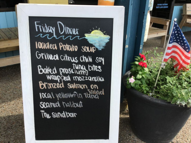 Friday Dinner Specials- July 26th, 2019