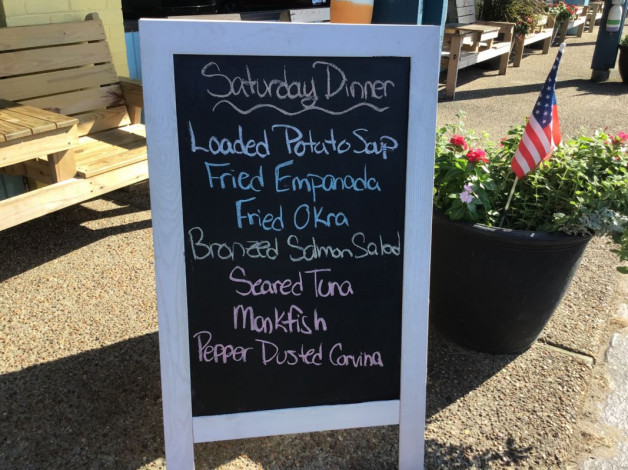 Saturday Dinner Specials July 27th, 2019