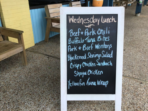 Wednesday, September 4 Lunch Specials