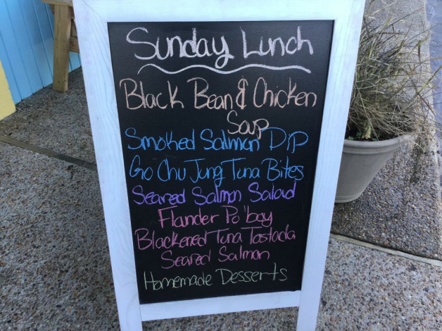 Sunday Lunch Specials- September 22nd, 2019