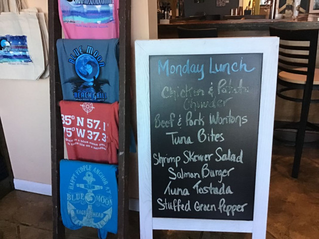 Monday Lunch Specials September 23rd, 2019