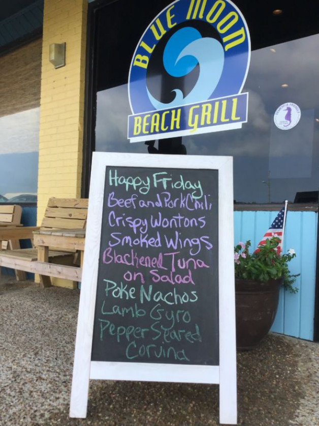 Friday Lunch Specials September 27th, 2019