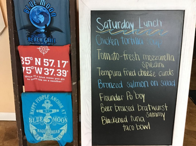 Saturday Lunch Specials- October 12th, 2019
