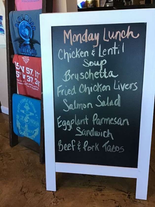 Monday Lunch Specials November 4th, 2019
