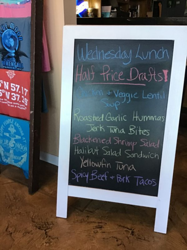 Wednesday Lunch Special November, 6th, 2019