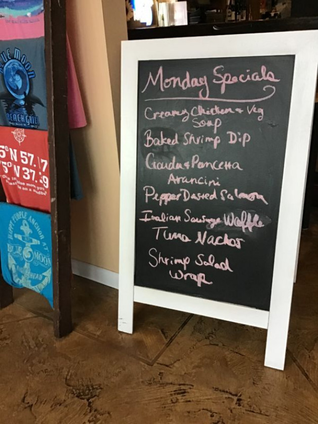 Monday Lunch Specials November 18th, 2019