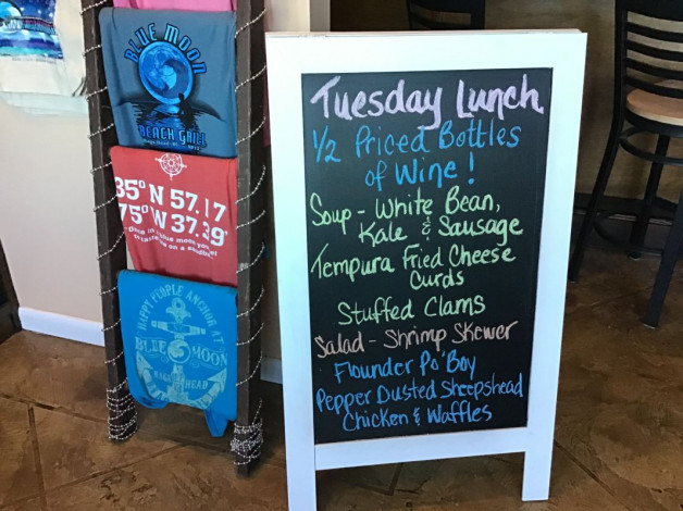 Tuesday Lunch Specials November 26th, 2019