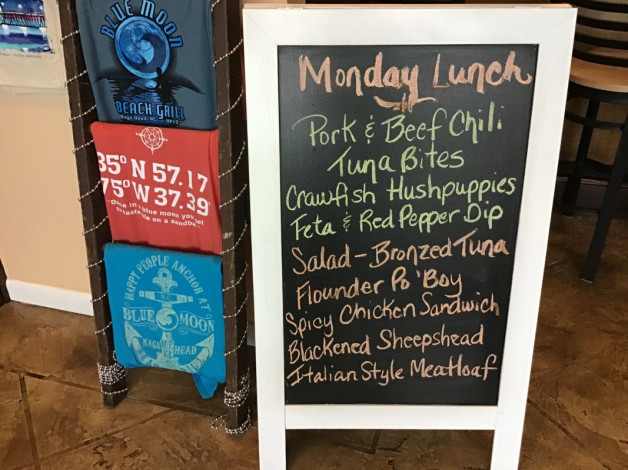 Monday Lunch Specials December 2, 2019