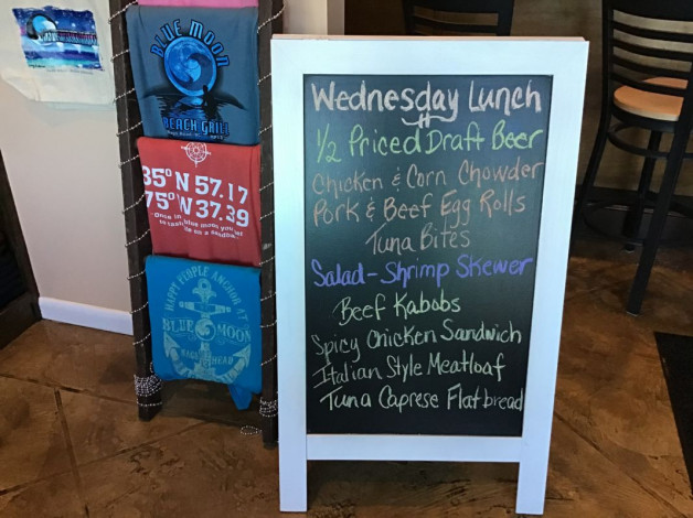 Wednesday Lunch Specials December 4th, 2019