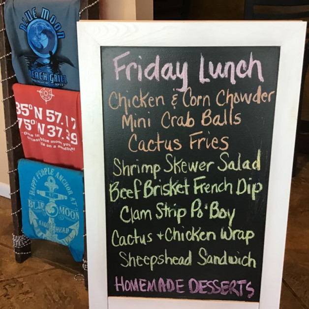Friday Lunch Specials December 6th, 2019