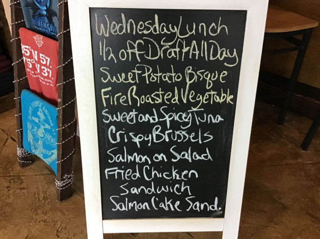 Wednesday Lunch Specials