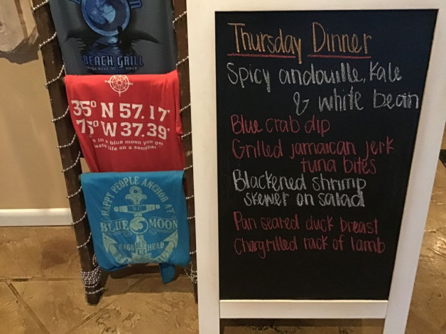 Thursday Dinner Specials- December 26th, 2019