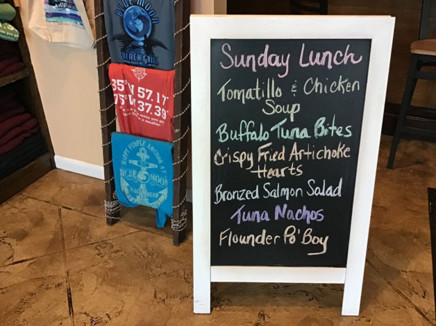 Sunday Lunch Specials December 29th, 2019