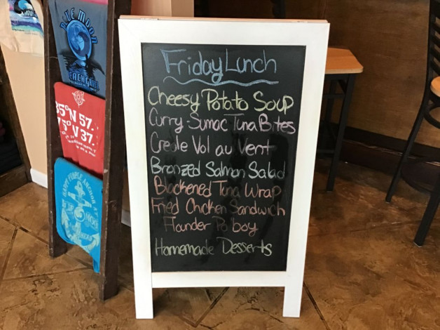 Friday Lunch Specials- January 3rd, 2020