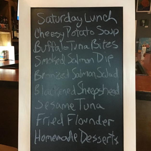Saturday Lunch Specials January4th, 2019