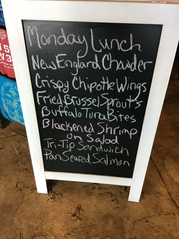 Monday Lunch Specials January 13th, 2020