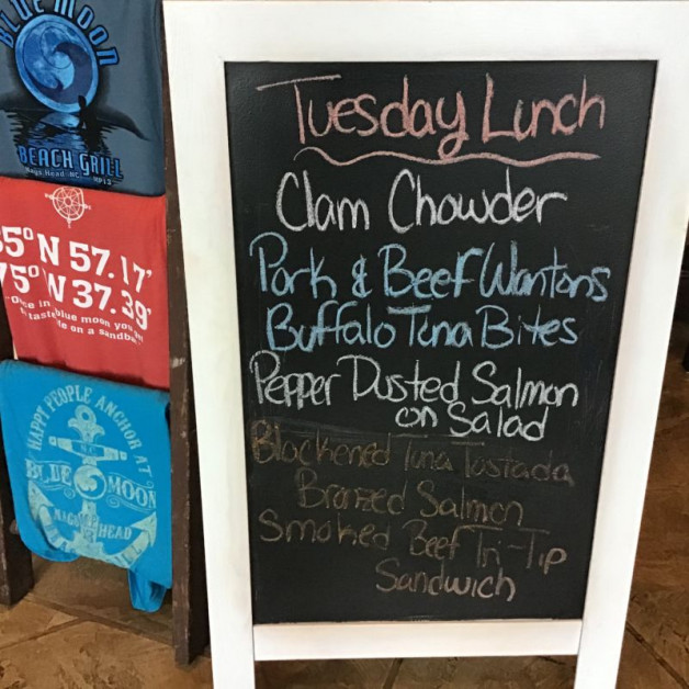 Tuesday Lunch Specials- January 14th, 2020