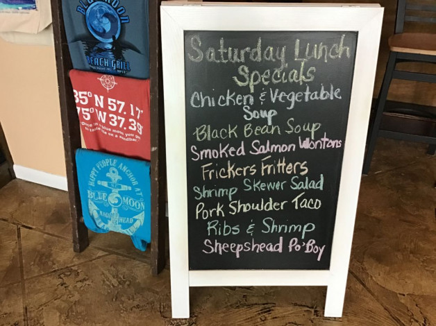 Saturday Lunch Specials January 18th, 2020