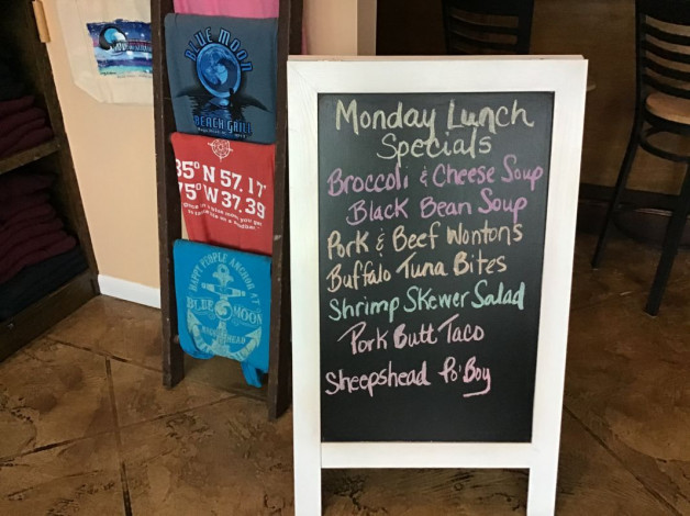Monday Lunch Specials January 20th, 2020