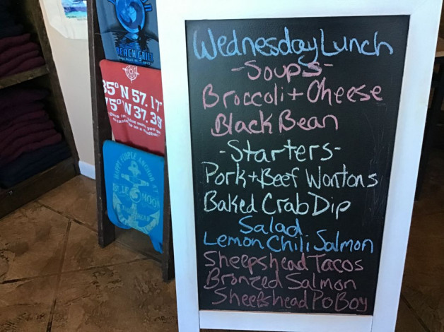 Wednesday Lunch Specials January 22nd, 2020