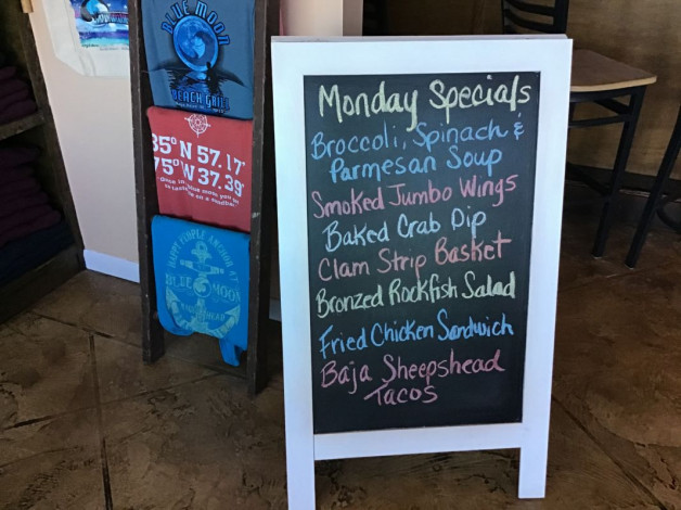 Monday Lunch Specials January 27th, 2020