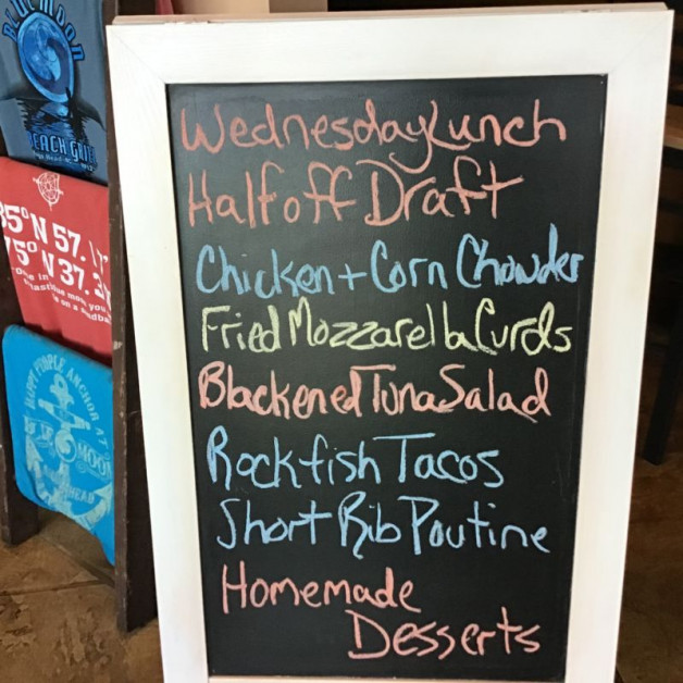 Wednesday Lunch Specials January 29th, 2020