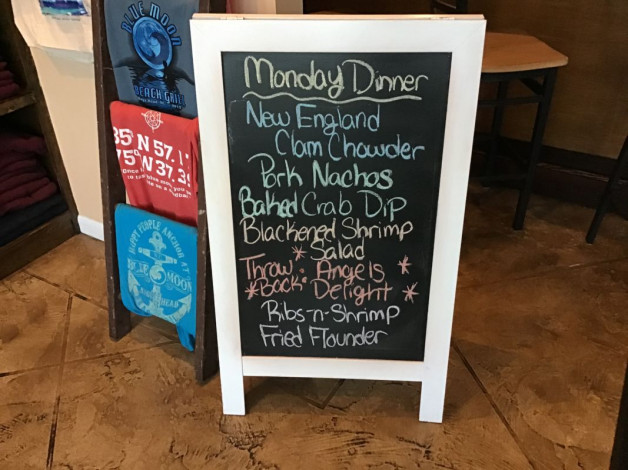 Monday Dinner Specials- February 10th, 2020