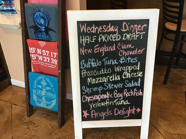 Wednesday Dinner Specials- February 12th, 2020