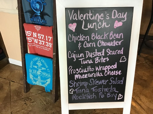 Friday Lunch Specials February 14th, 2020
