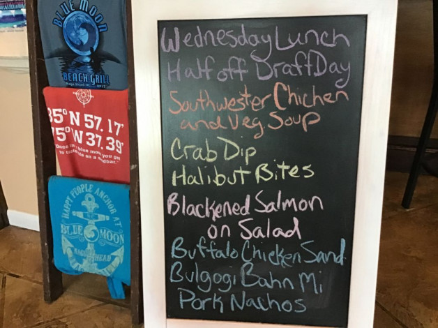 Wednesday Lunch Specials February 19th, 2020