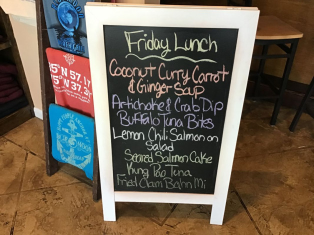 Friday Lunch Specials- February 21st, 2020