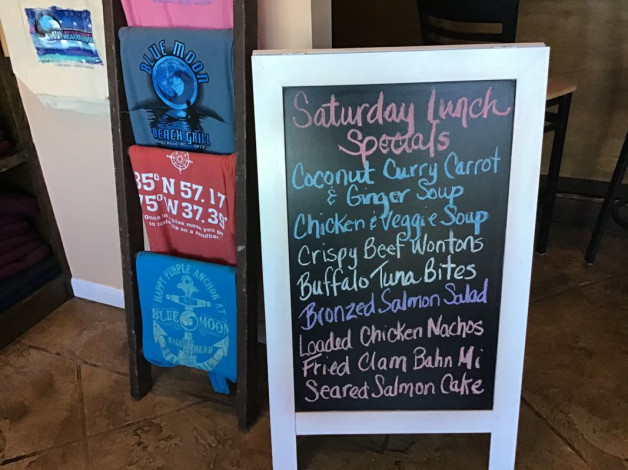 Saturday Lunch Specials February 22nd,2020
