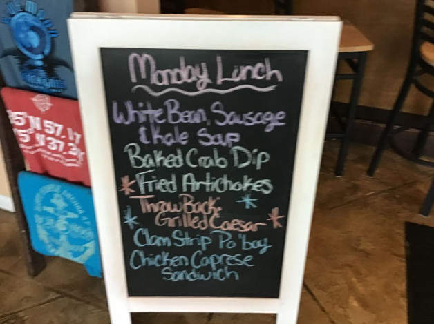 Monday Lunch Specials- February 24th, 2020