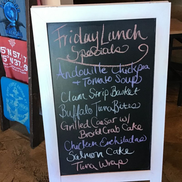Friday Lunch Specials February 28th, 2020