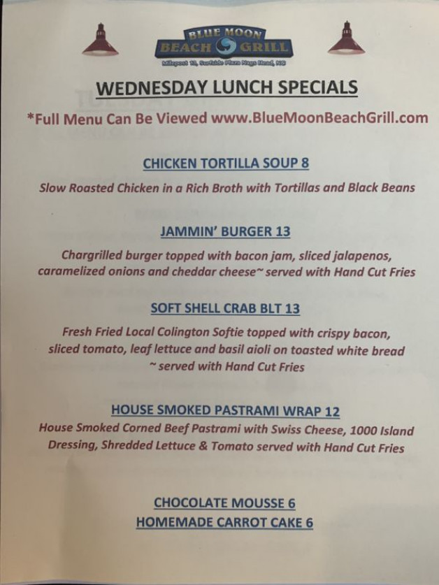 Wednesday Lunch 4/29/20