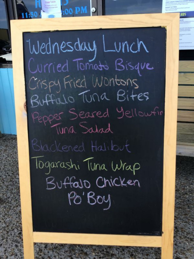 Wednesday Lunch Specials June 24th, 2020