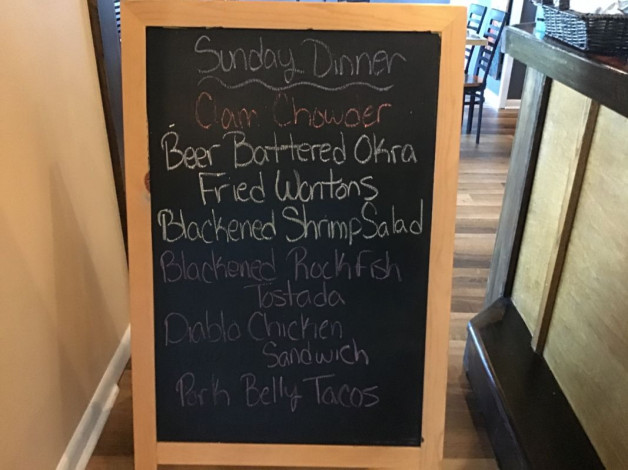 Sunday Lunch Specials July 12th, 2020
