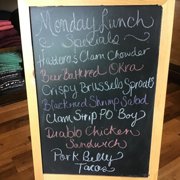 Monday Lunch Specials July 13th 2020