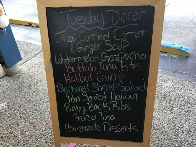 Tuesday Dinner Specials July 21st 2020
