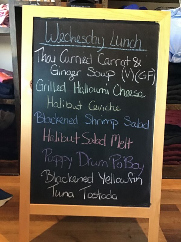 Wednesday Lunch Specials, July 22