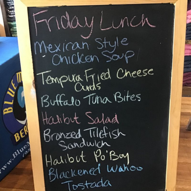 Friday Lunch Specials July 31st 2020