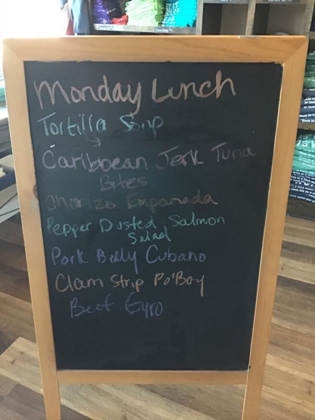 Monday Lunch Specials November 2nd, 2020