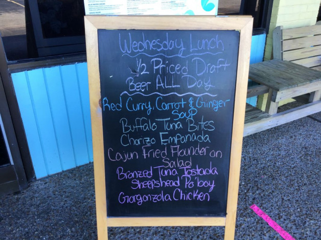 Wednesday Lunch Specials November 4,2020