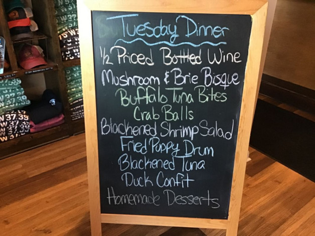 Tuesday Dinner Specials November 17th,2020