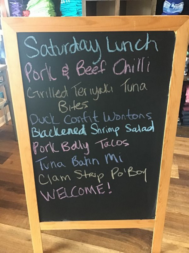 Saturday Lunch Specials November 22nd, 2020