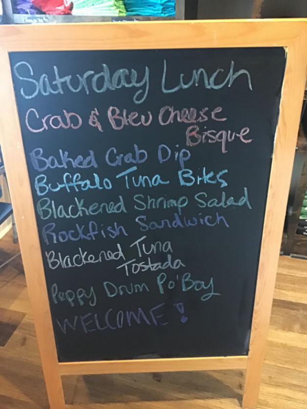 Saturday Lunch Specials November 28th, 2020