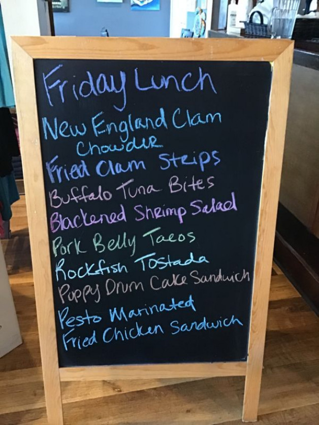 Friday Lunch Specials December 4th, 2020
